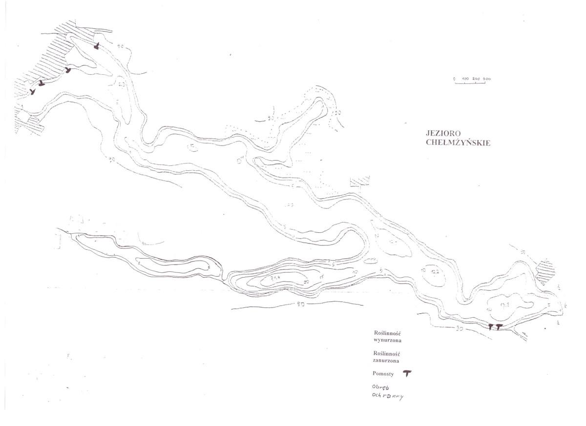jezioro kamionkowskie koło torunia